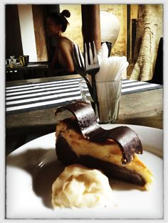 Double Chocolate Paradise Road Cheesecake, Gallery Cafe, Colombo | Sri Lanka