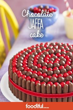 This fun cake will be a hit at any party, especially a kid's party!  The cake will be ready in 1 hr 15 min and has a large serving size of 18.