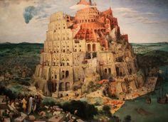 """Das berühmte Gemälde """"Großer Turmbau zu Babel"""" von Pieter Bruegel dem Älteren entstand 1563 und ist im Kunsthistorischen Museum in Wien zu finden."""