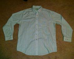 L.L. Bean Light Green Shirt Size XL Shirt #LLBean #ButtonFront