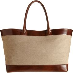 Saddlers Union Eastwest Shopper Tote in Brown (natural) - Lyst
