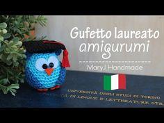 Uncinetto amigurumi: gufi mandala - YouTube