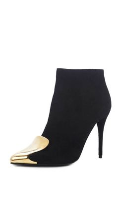 3b01bd773f8a Discover discounted Alexander McQueen black stiletto ankle boots  exclusively at Amuze  designerdiscount Pointed Ankle Boots