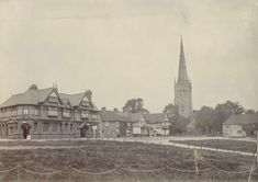 The Green, King's Norton, Birmingham, West Midlands | Educational Images | Historic England Birmingham England, West Midlands, British History, Nottingham, Family History, Paris Skyline, King, Education, Green