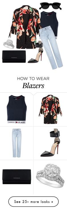 """""""nicole richie"""" by paluna on Polyvore featuring Tommy Hilfiger, River Island, Yves Saint Laurent, Christian Louboutin and Givenchy"""