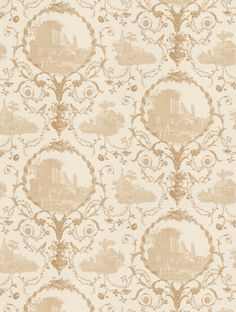 Au Pied Des Ruines Wallpaper by Zoffany - ZCHP06001