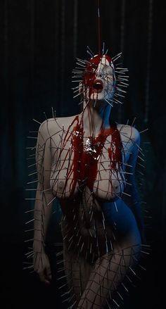 Puss in Boots Arte Horror, Horror Art, Horror Movies, Terror Sexy, Dark Fantasy, Fantasy Art, Creepy, Scary, Sexy Horror