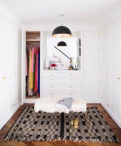 such a pretty closet