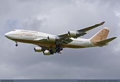 Atlas Air Boeing 747-481 N322SG at Manchester