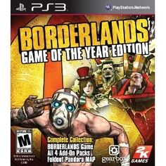 "Action RPG Meets First Person Shooter!!! Borderlands is the first 4 player Co-op Role Playing Shooter; combining the intuitive reward systems of action RPGs and the frantic-paced combat of First Person Shooters. The Game of the Year Edition includes all 4 of the add-on packs so that you can enjoy all of the content from one of the Most Acclaimed Games of 2009 in one sweet package. ""The Zombie Island of Doctor Ned"" - The Jakobs Corporation would like to invite you to experien"