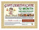 Need a Christmas gift that is inexpensive and will save your family time & money? Gift certificates to Deals to Meals is the perfect solution! For under $15 you will have a gift that will continue to give for several months to come! Who doesn't need to save money on their grocery budget?? Visit our blog for all of the special pricing and details.  Deals to Meals