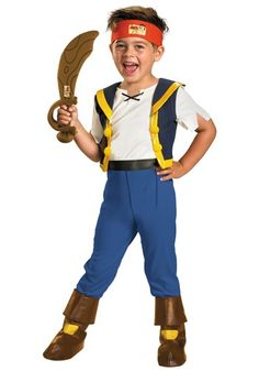 Toddler Jake Never Land Pirate Costume