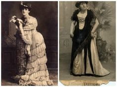 The History of Drag Queens - Part 1. Site is in Spanish; use Google translate if needed. Fashion Bubbles