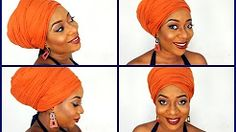11 Ways to Tie a Turban Headwrap Tie A Turban, Turban Style, Header, Turban Tutorial, Head Wrap Scarf, Head Scarfs, Scarves, African Head Wraps, Bad Hair Day