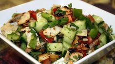fattoush salad with chicken