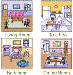 Imagenes de las partes de una casa - Imagui