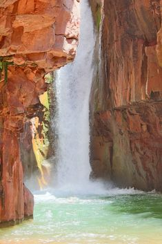 Cibecue Falls is one of Arizona's hidden gems. Find out everything you need to know before hiking to this incredible 40 foot waterfall! Arizona Road Trip, Arizona Travel, Hiking In Arizona, Arizona Usa, Sedona Arizona, Vacation Destinations, Vacation Spots, Vacations, Italy Vacation