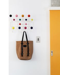 Modern Classics: The Eames Hang-It-All. Originally from The Design Files - photos by Lucy Feagins. All Modern Furniture, Diy Furniture, Furniture Design, Furniture Online, Furniture Stores, Modern Classic, Mid-century Modern, Modern Design, Modern Living