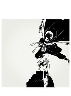 Deidara and Sasuke