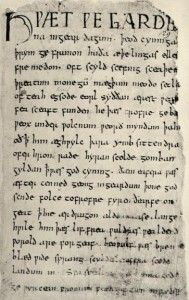 Diglossia in Anglo-Saxon England, or what was spoken Old English like?