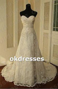 Ruffle Bust Bead Belt Lace Hem Wedding Dresses Crystal Sweetheart Plus size Bridal Wedding Gown Corset Back