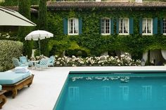 Gorgeous English Countryside pool | LQ SHOP