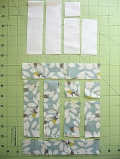 Today I'm lucky to have a tutorial by Kersten of Frozen Knickers. She's going to show you how to make the blocks for this hip little quilt. Which looks very honeybun friendly for all you honey-bunn…