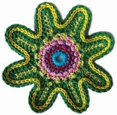 Patrones Crochet, Manualidades y Reciclado: Flores en Crochet Varios Patrones Paso a Paso