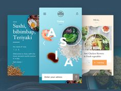https://dribbble.com/shots/3373861-Food-App