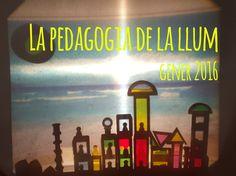 Formació sobre la pedagogia de la llum a l'EBM El Cau de les Goges, a Sant Julià de Ramis (Girona). Formación sobre la pedagogía de la luz en la EBM El Cau d...
