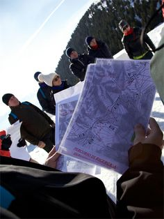 team building orienteering winter