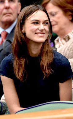 Keira, always the most beautiful Celebrities - Wimbledon Championships - Elle Keira Christina Knightley, Keira Knightley, Begin Again Keira, Face Expressions, Pride And Prejudice, Woman Crush, Beautiful Celebrities, Celebrity Crush, Pretty Woman