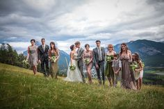 Keri and Brendan's (Skinny Dipping!) Mount Norquay Wedding | Calgary Wedding Photography