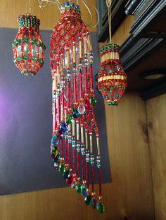 More Marisela 2014, beaded ornament cover