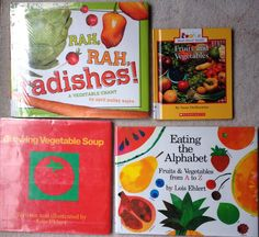 These are some great books I found to teach about fruits and vegetables.  Read more on my blog and grab the FREEBIE.