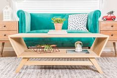 Build This Mid-Century Modern Coffee Table http://blog.homedepot.com/diy-mid-century-modern-coffee-table/