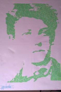Arthur Rimbaud - Painting edition (120x80) Posca