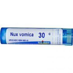 Boiron, Single Remedies, Nux Vomica, 30C, Approx 80 Pellets, Diet Suplements ST