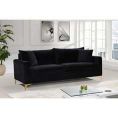 Find a couch, sofa or loveseat that suits your needs and fits perfectly in your home. At Wayfair, we carry Zillions of couch styles to fit any home's decor. Diy Sofa, Sofa Furniture, Living Room Furniture, Modern Furniture, Outdoor Furniture, Furniture Design, Rustic Furniture, Furniture Ideas, Furniture Shopping