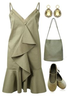 """""""Olive Green"""" by deborah-calton ❤ liked on Polyvore featuring Scanlan Theodore and Annoushka"""