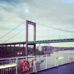 Götakanal-Brücke - Göteborg @Heike Fischer Schwedenreiseführer #bjoerklunda #schweden #gothenborg
