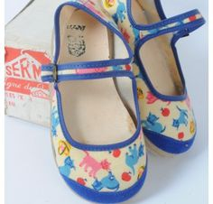 Chaussures toile motifs chats