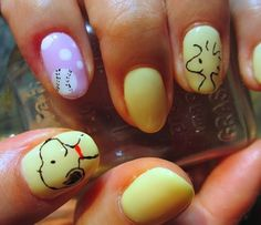 Nail Haco: Snoopy Nail Art                                                                                                                                                                                 More