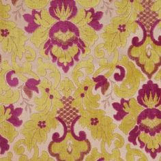 This is a heavy weight velvet damask ideal for upholstery.