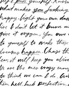 Jasmine Dowling Typography