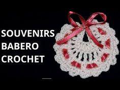 Lembrancinha de Maternidade - passo a passo - de crochê - Simone Eleoterio…