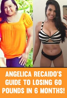 Angelica Recaido's Guide To Burning Fat & Losing 60 Pounds In 6 Months!