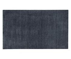 Tappeto in lana bikaner Eternity piombo - 90x55 cm