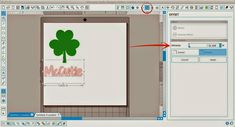 How to cut a word out of a shape in Silhouette Studio.