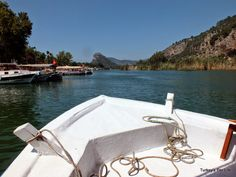 Sailing along the river in #Dalyan, southwest #Turkey